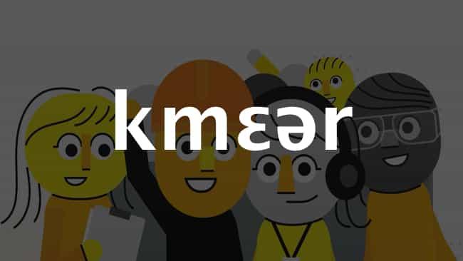 Khmer (Cambodia) language icon