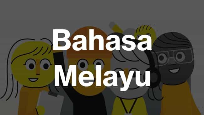 Malay (Malaysian)  language icon
