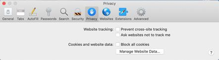 prevent cross-site tracking