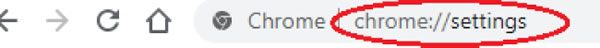 OES workaround Chrome step 1-3