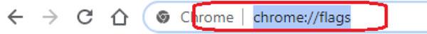 OES workaround Chrome step 2-1